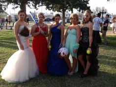 Prom Dresses and Softball