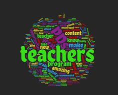 Suggestions for GREAT teacher professional developments!
