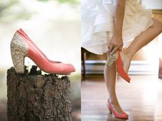 Gorgeously unique #wedding shoes! From http://ruffledblog.com/tall-timber-barn-wedding/  Photo Credit: http://lovemedophotography.com/  Shoes: http://topshop.com