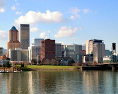 Portland Oregon is found just hours from the Oregon coast near both the Willamette River and the Columbia River.
