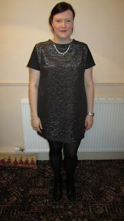 Merchant and Mills Camber Set Sparkly Dress