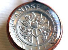 Dutch Antilles Coin Pendant by Lorinda3LJewelry on Etsy - $20.00