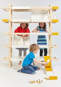 Children's Furniture as a Material of Imagination