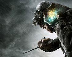 Corvo Removing Mask - Pictures & Characters Art - Dishonored
