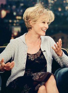 Jessica Lange on the Tonight Show, 1998.