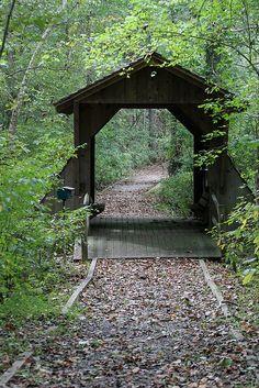 North Carolina Covered Bridge