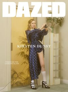 Kirsten Dunst, star of Sofia Coppola's The Beguiled, fronts the summer issue of Dazed. Photography Casper Sejersen Styling Robbie Spencer