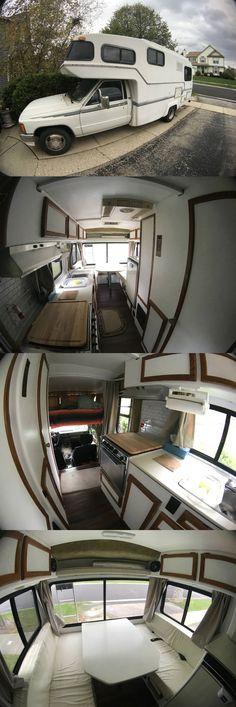 1987 Toyota Sunrader Toyota Motorhome, Toyota Camper, Toyota Dolphin, Van Home, Rv Trailers, Mobile Homes, Tiny Houses, Outdoor Living, Dan