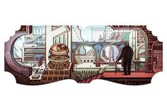 Jorge Luis Borges This Aug. 2011 doodle celebrated the birthday of Argentine poet, essayist, and short story writer Jorge Luis Borges with a homepage doodle that captured the author's surreal approach to literary works. Logo Google, Art Google, Best Google Doodles, Kuwait National Day, Belly Dancing Classes, Argentine, New Readers, Famous Artists, Bumper Stickers