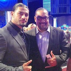 Roman Reigns and Black Pearl at the Hall of fame Roman Reigns Family, Roman Regins, Wwe World, Wwe Photos, Wwe Wrestlers, Now And Forever, Roman Empire, Man Crush, Romans