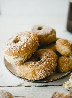 Eggnog donut recipe