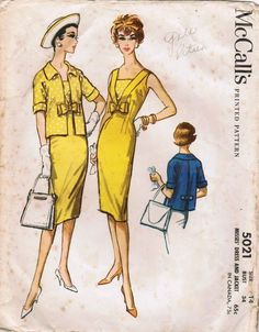 McCall's 5021 | Vintage Patterns Wikia