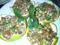 """Bodrum Mandalinası Yaşamalı"""" konulu konsept gecemizden, mandalinalı buğday salatası."""
