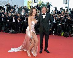 Bella Hadid y su accidentado vestido en Cannes