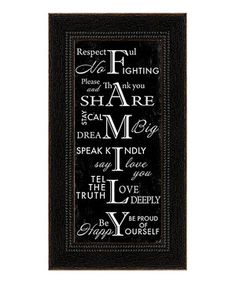 Create a cozy and cottage-inspired atmosphere in any room of the home with this inspiring accent. With a heartwarming quote alongside dainty details, this framed piece provides a simple way to personalize décor. Treated with UV protection and an acid-free textured finish for a canvas look and feel, it's sure to last a lifetime.