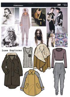 Fashion Design/Apparel Image - luxeexplorermoodboardrange.jpg - London United Kingdom