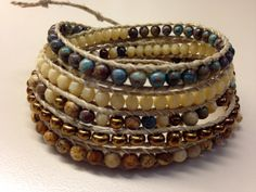 Hey, I found this really awesome Etsy listing at https://www.etsy.com/listing/210985861/quintuple-wrap-precious-gem-czech-jasper
