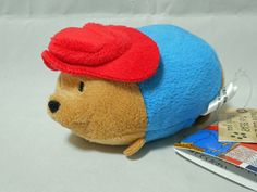 Paddington Bear Bean bag style Plush (Red Hat) Japan #Saneiboeki