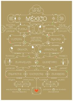 Mexico in Brownstone Sans  Silkscreen  License the typeface at www.sudtipos.com