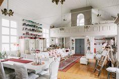 Uma igreja transformada numa casa de sonho