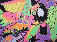 Neon Tropical. Boom - #birds