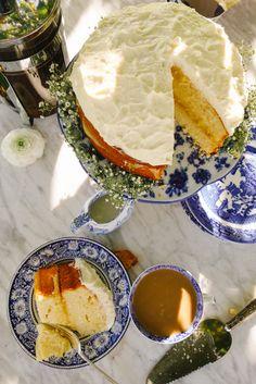 Cream Cheese Lemon Cake & Coffee - The Londoner