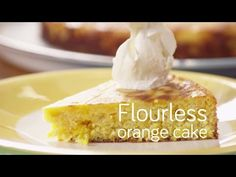 Flourless orange cake | Video recipe