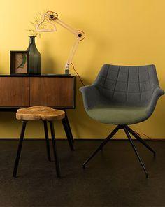 Zuiver stoel Doulton | Stoelen | we zijn  eruit, deze eetkamerstoel vinden we allebei leuk en zit heerlijk.