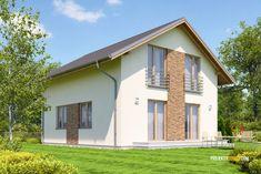 Projekty rodinných domov - projekt domu Benefit 125