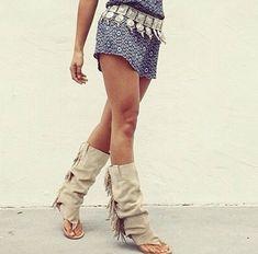 shoes beige sandals boho indian boots boholove boho chic bohogirl fransen sandalen