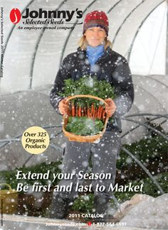 Johnny's Selected Seeds is an employee-owned, established company that has great varieties.