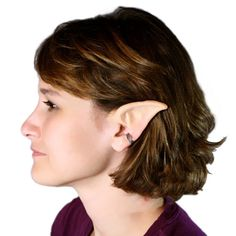 Handmade Large Elf Ears-- latex ear tips, great for cosplay, costumes, Halloween, Christmas on Etsy, $18.99