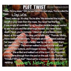 The Maze Runner Newt Plot Twist<<<BLESS THE SOUL WHO MADE THIS<<<<I really needed this<< I just finished the book, I haven't been in a good mood since then, I really needed this. Maze Runner Funny, Maze Runner The Scorch, Maze Runner Cast, Maze Runner Movie, Maze Runner Trilogy, Maze Runner Series, Thomas Brodie Sangster, Newt Thomas, The Scorch Trials