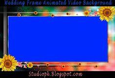 Wedding Frame Animated Video Background