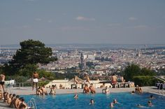 Travel Articles, Photos and Videos - AOL Cool Swimming Pools, Heart Of Europe, Vienna Austria, What A Wonderful World, Travel Information, Wonders Of The World, Paris Skyline, Places To Go, Dolores Park