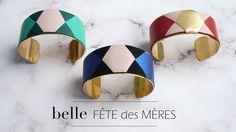 Fête des mères 2015, manchettes Polygones. http://www.lheuredete-paris.fr/