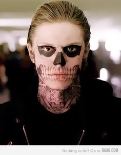 Tate Langdon want to do this make up for halloween
