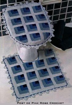 Tapetes-de-crochê-para-banheiro-com-gráficos-1