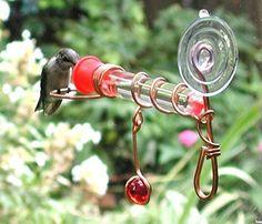 Amazon.com : Songbird Essentials Window Wonder One Tube Feeder : Wild Bird Dome Feeders : Patio, Lawn & Garden