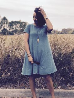 Lularoe Carly (acid washed)... you can make this look superb classy!