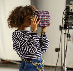 Taylor Russell, Chanel 19, My Wardrobe, Behind The Scenes, High Fashion, Campaign, House Styles, How To Wear, Collection