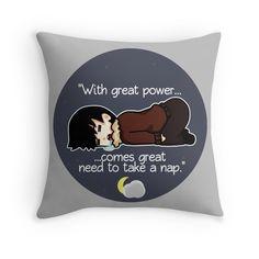 Nap Time! V2 Throw Pillow