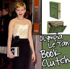 Meet the New It-Bags: Olympia Le Tan Book Clutch: One of the flashier bags of the bunch, these quirky fun bags fit perfectly into the gamine little hands of the It-girls who love them. Net-a-Porter, $1300 - $1520 <-- Didn't @kate spade new york do book clutches before other designers? (still coveting the Emma clutch)