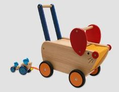Loopwagen muis