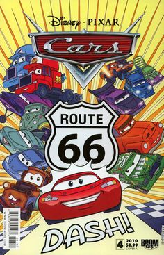 Disney Pixar Cars Comic Book #4