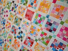 i have soooooooooo many 2 inch and 2.5 inch squares.............
