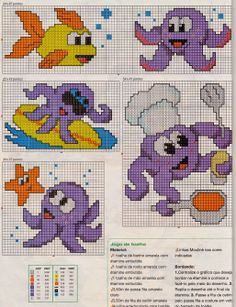 Disney Cross Stitch Patterns, Cross Stitch For Kids, Cross Stitch Boards, Cross Stitch Baby, Cross Stitch Animals, Cross Stitch Designs, Hand Embroidery Patterns, Beading Patterns, Cross Stitching