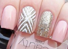 Tuesday Tips: Pretty In Pink And Gold Nails