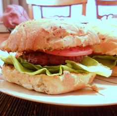Smoky Bacon Bison Burgers by @PastryChfOnline - love bison AND bacon! #hgeats