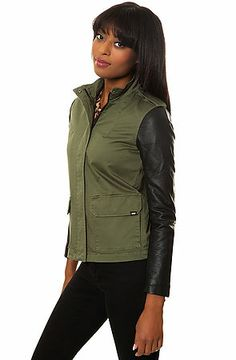 The Hawthorne Jacket in Four Leaf Clover